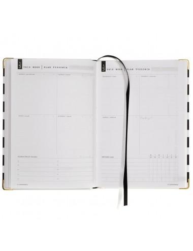 Simple Planner / Beżowe Pasy