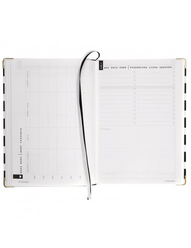 Simple Planner / Czarne Pasy