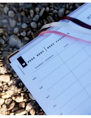 Simple Planner / Jasny Róż